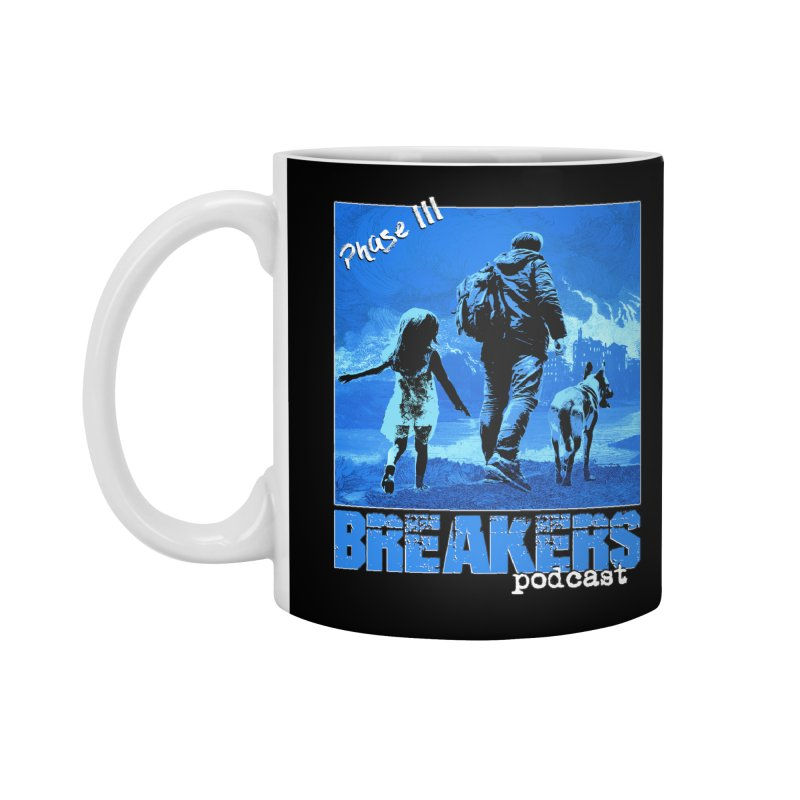 Phase III BLUE Tshirt Accessories Standard Mug by breakerspodcast Shop
