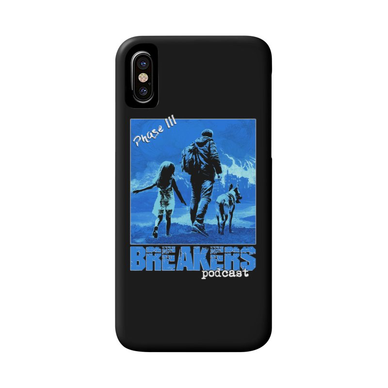 Phase III BLUE Tshirt Accessories Phone Case by breakerspodcast Shop
