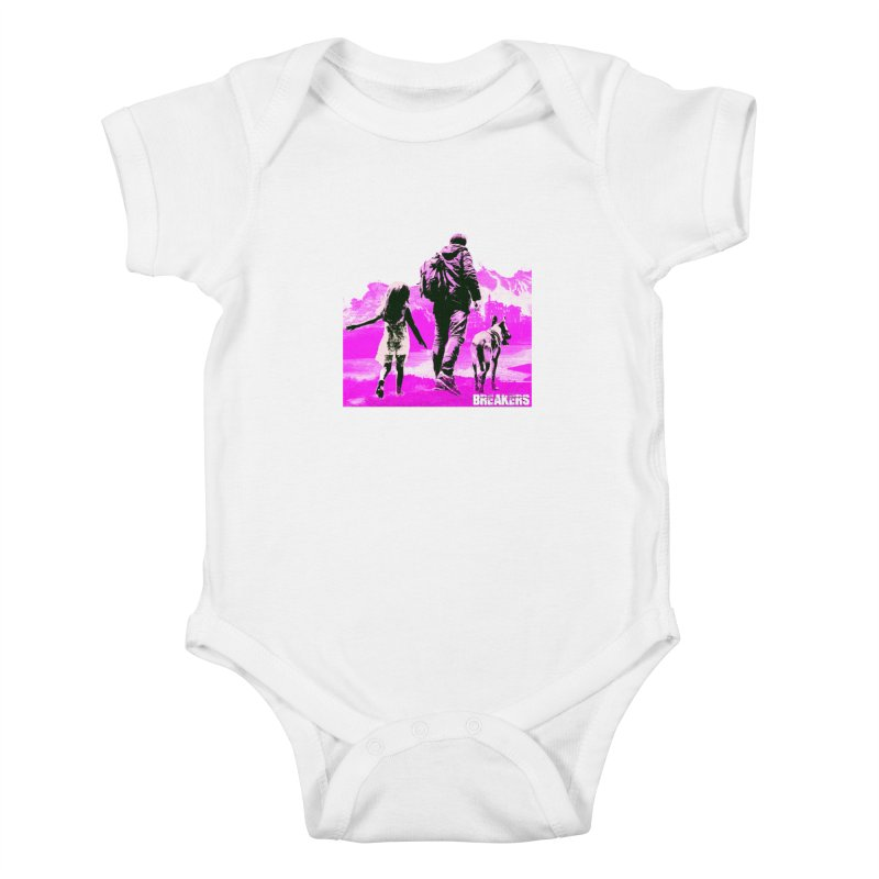 Breakers Kids Pink Kids Baby Bodysuit by breakerspodcast Shop