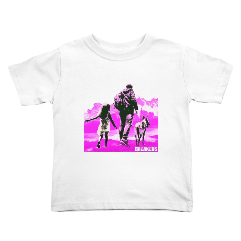 Breakers Kids Pink Kids Toddler T-Shirt by breakerspodcast Shop