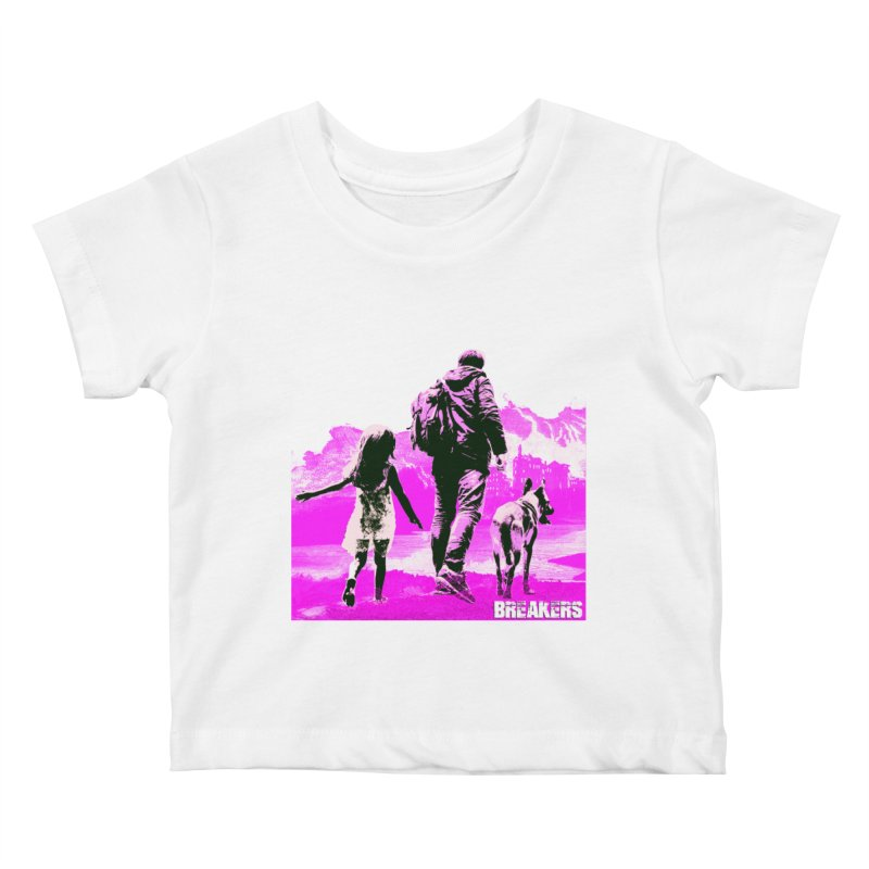 Breakers Kids Pink Kids Baby T-Shirt by breakerspodcast Shop