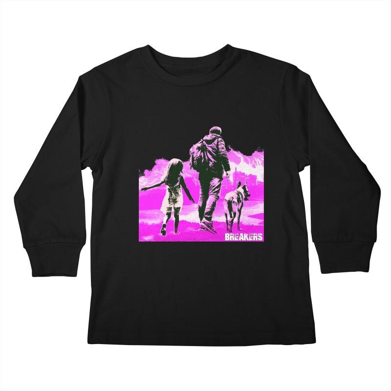 Breakers Kids Pink Kids Longsleeve T-Shirt by breakerspodcast Shop