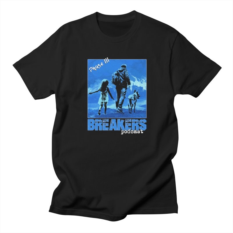 Phase III Poster (Blue) Men's T-Shirt by breakerspodcast Shop