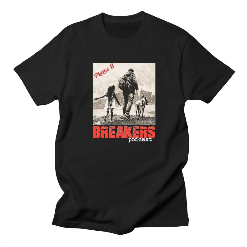 Phase II Poster (White) Men's T-Shirt by breakerspodcast Shop