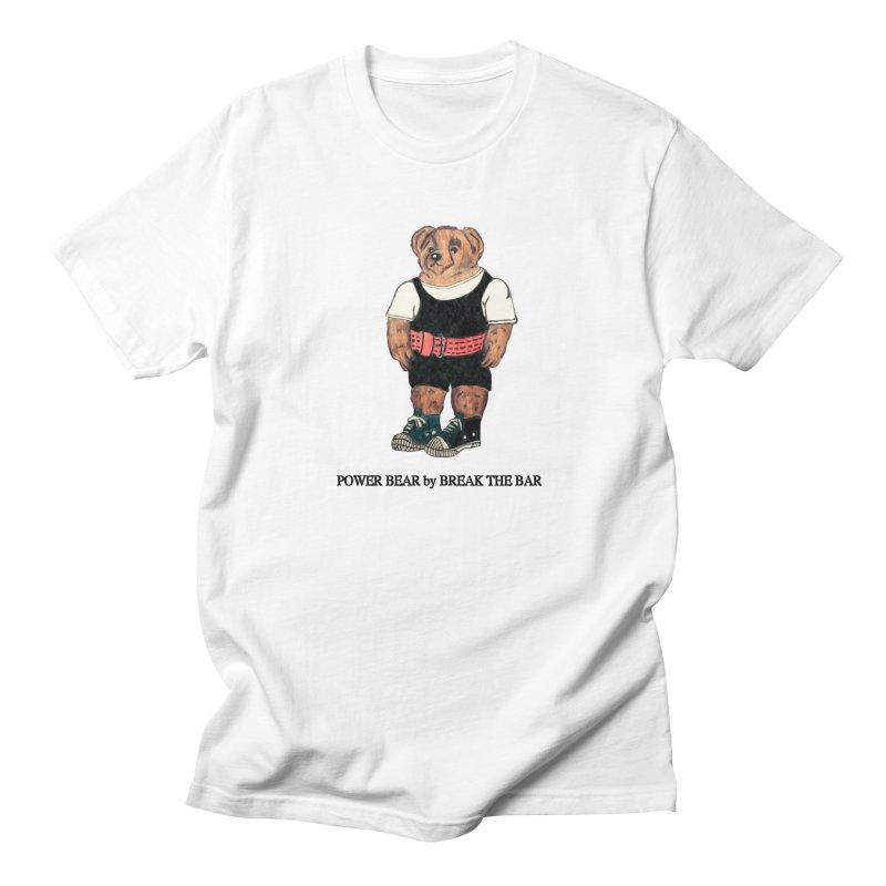 Power Bear Men's T-Shirt by Break The Bar