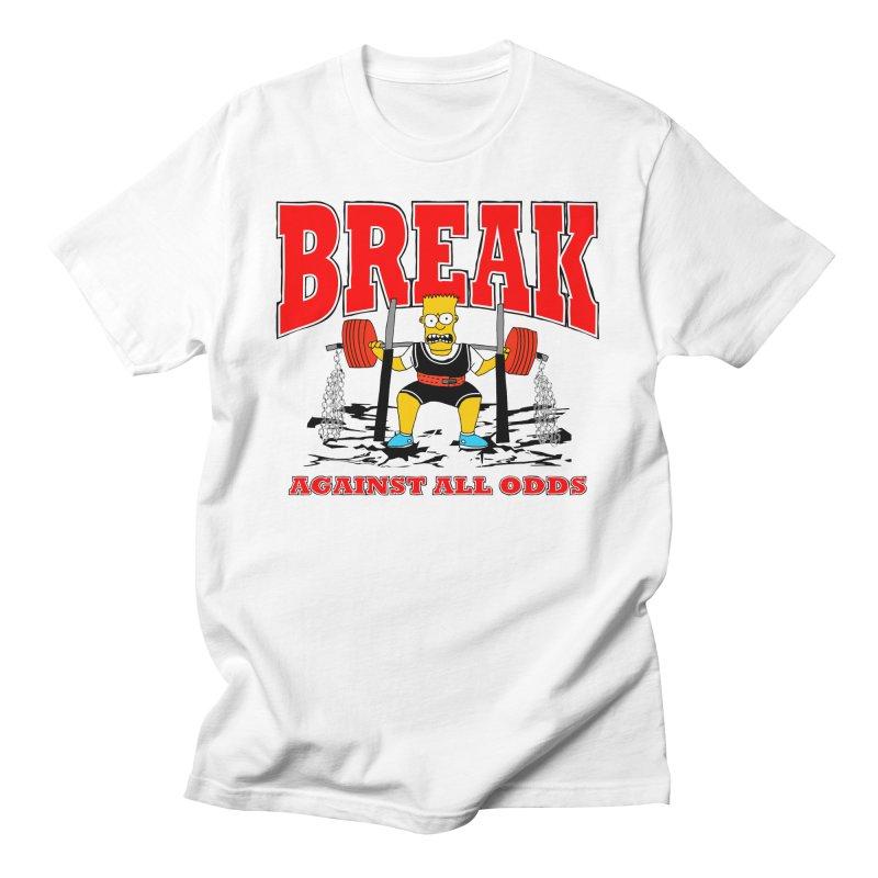 Against All Odds Men's T-Shirt by Break The Bar