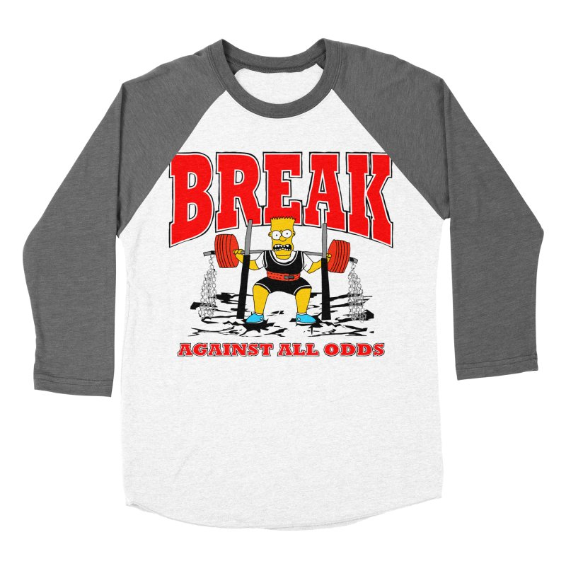 Against All Odds Women's Baseball Triblend Longsleeve T-Shirt by Break The Bar