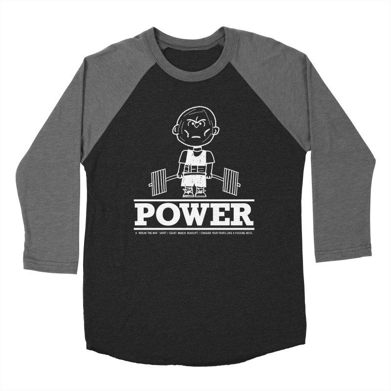 Peanuts Women's Baseball Triblend Longsleeve T-Shirt by Break The Bar