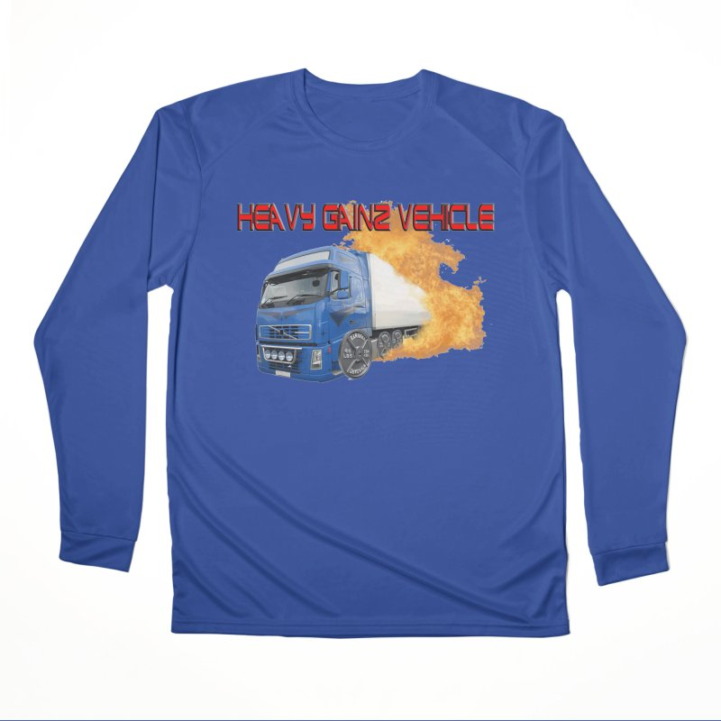 Heavy Gainz Vehicle Men's Performance Longsleeve T-Shirt by Break The Bar