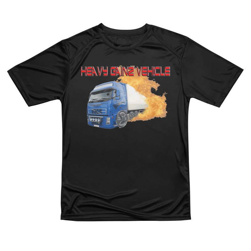 Heavy Gainz Vehicle Men's Performance T-Shirt by Break The Bar