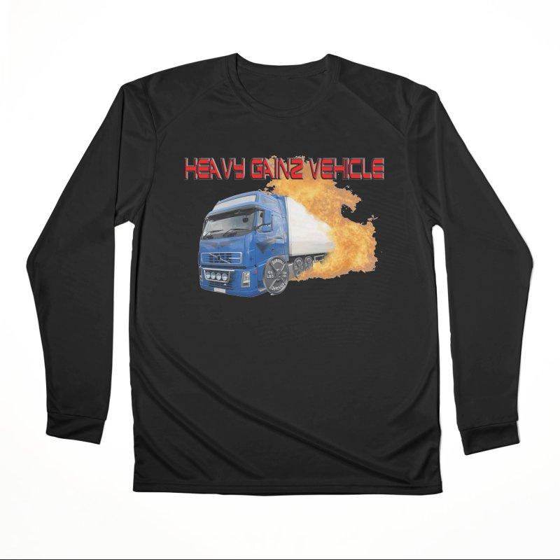 Heavy Gainz Vehicle Women's Performance Unisex Longsleeve T-Shirt by Break The Bar