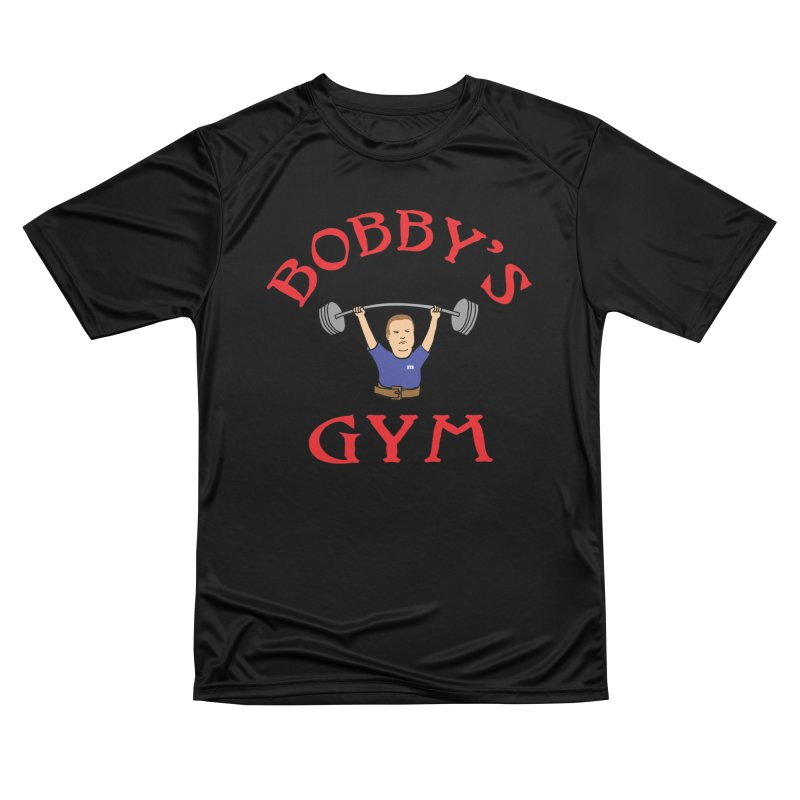 Bobby's Gym Women's Performance Unisex T-Shirt by Break The Bar