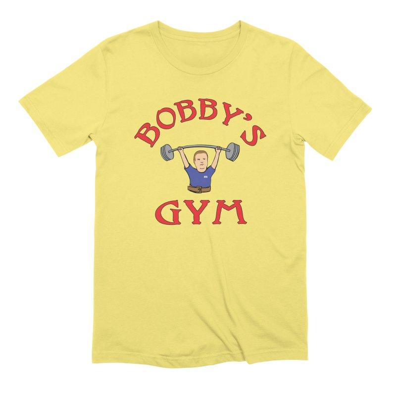 Bobby's Gym Men's T-Shirt by Break The Bar