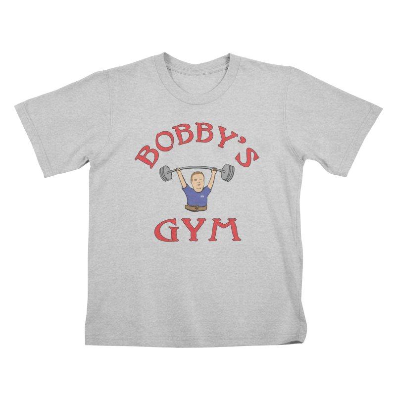 Bobby's Gym Kids T-Shirt by Break The Bar