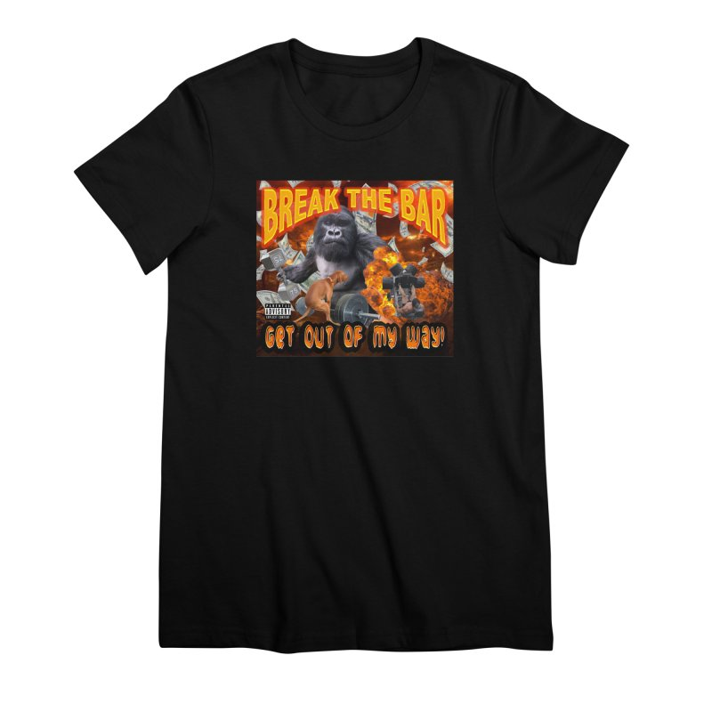 Gorilla Warfare Women's Premium T-Shirt by Break The Bar