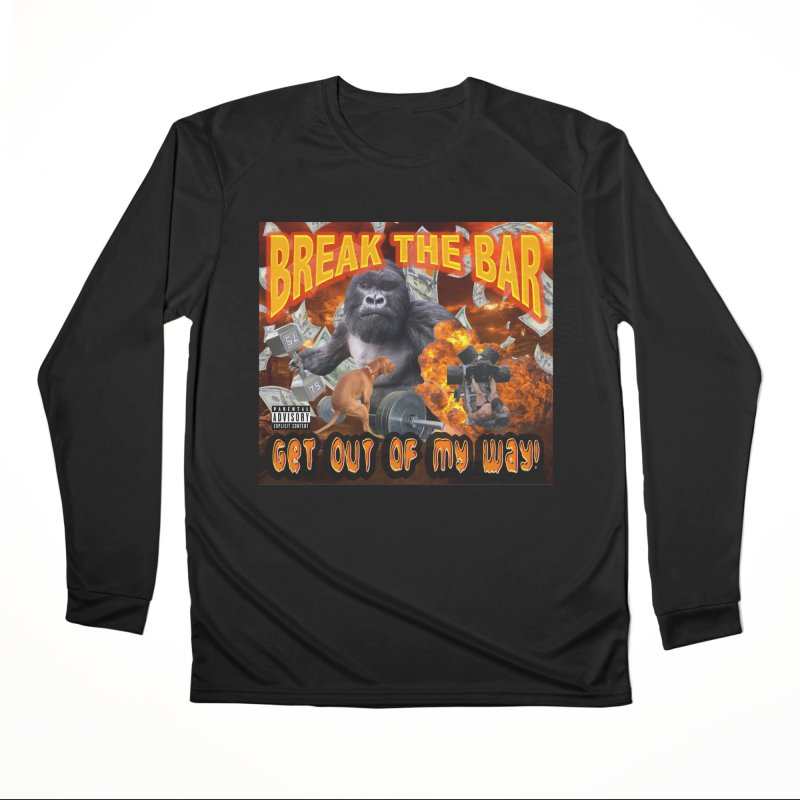 Gorilla Warfare Men's Performance Longsleeve T-Shirt by Break The Bar