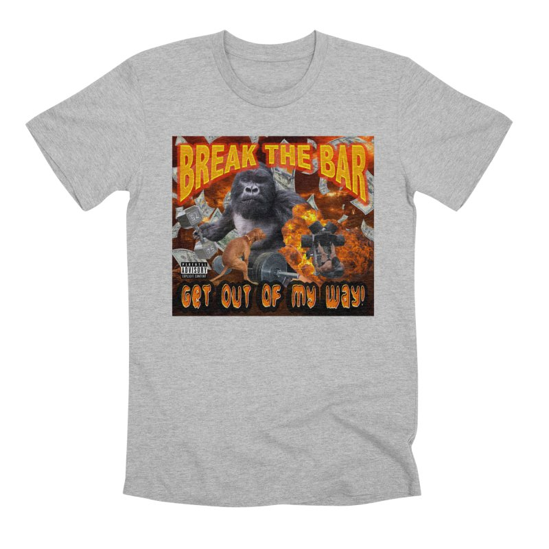 Gorilla Warfare Men's Premium T-Shirt by Break The Bar