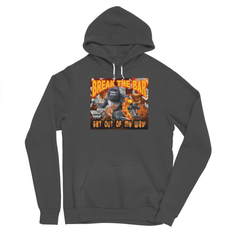 Gorilla Warfare Women's Sponge Fleece Pullover Hoody by Break The Bar