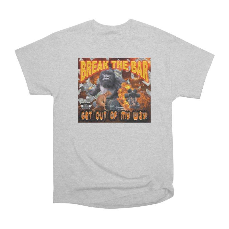 Gorilla Warfare Men's Heavyweight T-Shirt by Break The Bar
