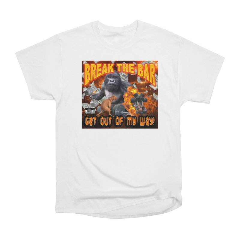 Gorilla Warfare Women's Heavyweight Unisex T-Shirt by Break The Bar