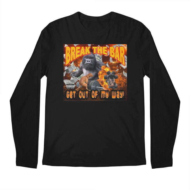 Gorilla Warfare Men's Regular Longsleeve T-Shirt by Break The Bar