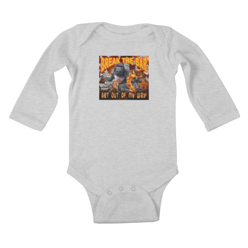 Gorilla Warfare Kids Baby Longsleeve Bodysuit by Break The Bar