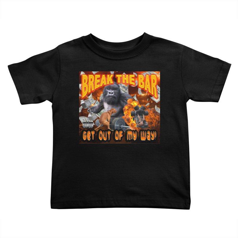 Gorilla Warfare Kids Toddler T-Shirt by Break The Bar