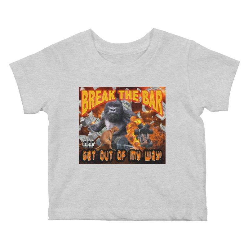Gorilla Warfare Kids Baby T-Shirt by Break The Bar