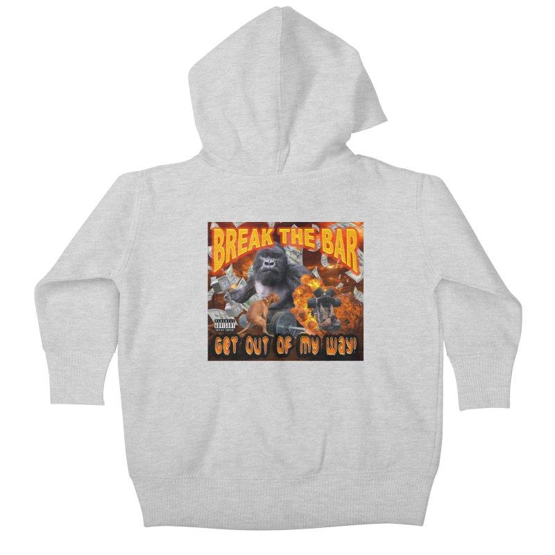 Gorilla Warfare Kids Baby Zip-Up Hoody by Break The Bar