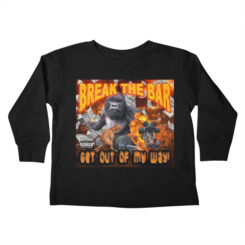 Gorilla Warfare Kids Toddler Longsleeve T-Shirt by Break The Bar