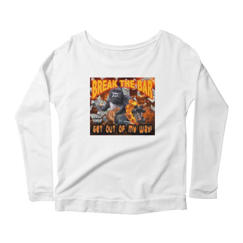Gorilla Warfare Women's Scoop Neck Longsleeve T-Shirt by Break The Bar