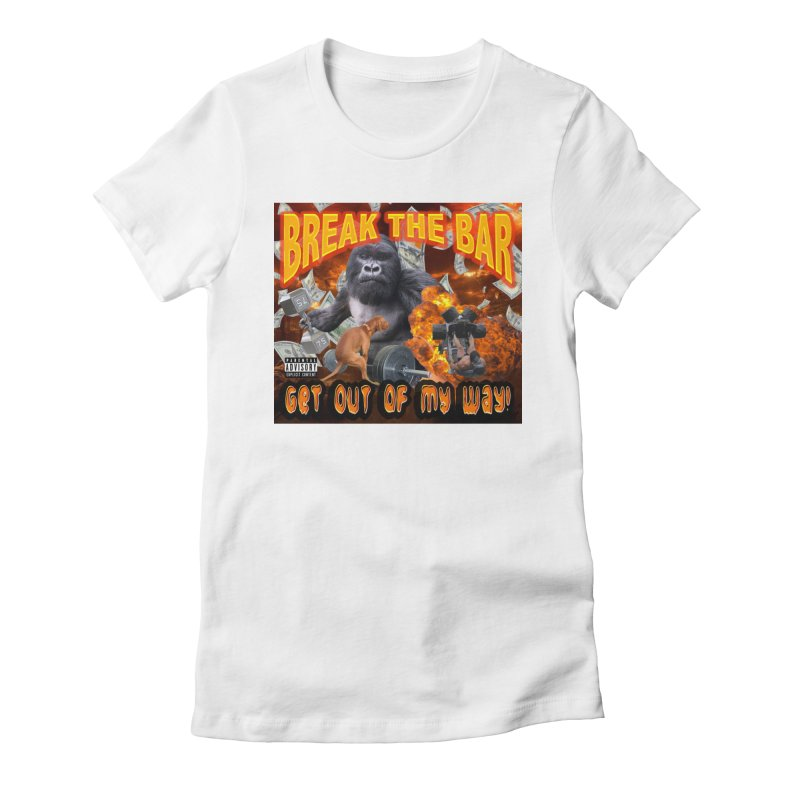 Gorilla Warfare Women's Fitted T-Shirt by Break The Bar