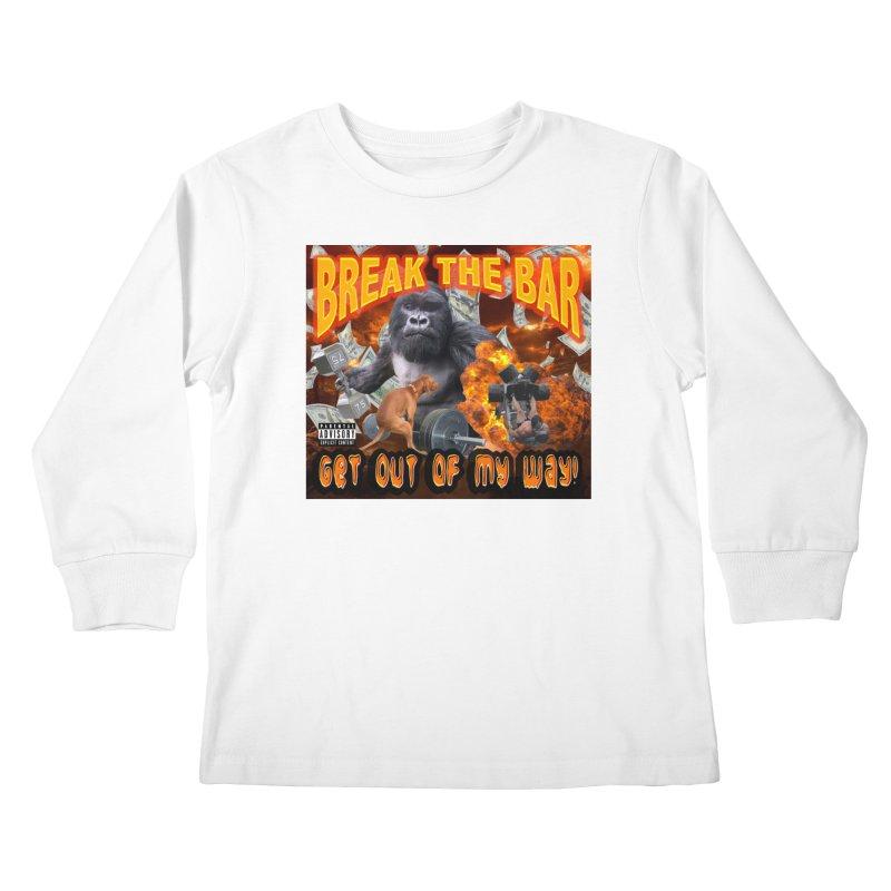 Gorilla Warfare Kids Longsleeve T-Shirt by Break The Bar