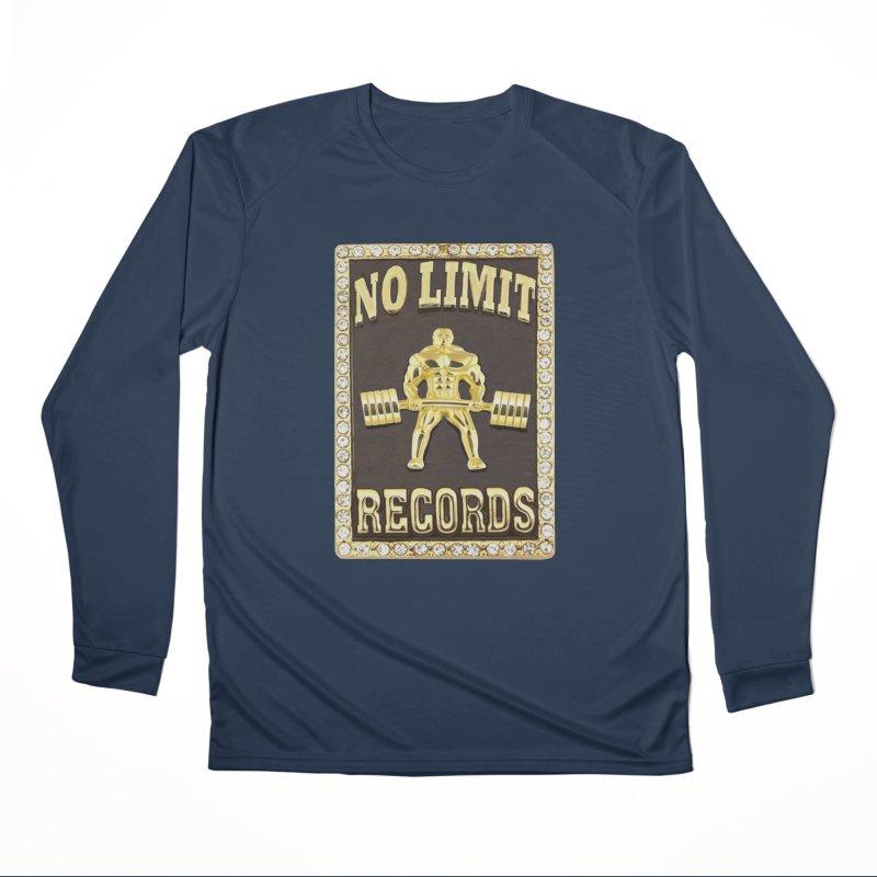 Gold Chain Men's Performance Longsleeve T-Shirt by Break The Bar