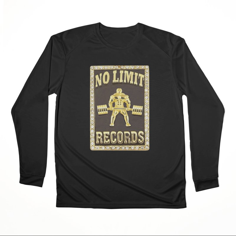 Gold Chain Men's Performance Longsleeve T-Shirt by Break The Bar