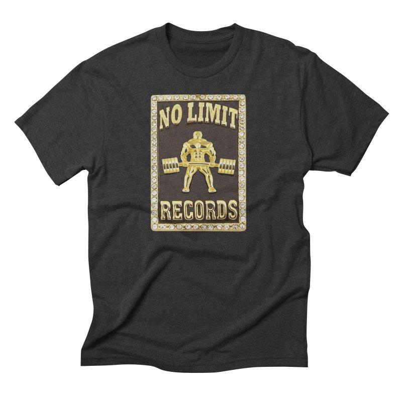 Gold Chain Men's Triblend T-Shirt by Break The Bar