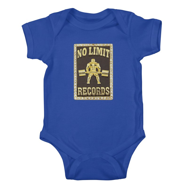 Gold Chain Kids Baby Bodysuit by Break The Bar