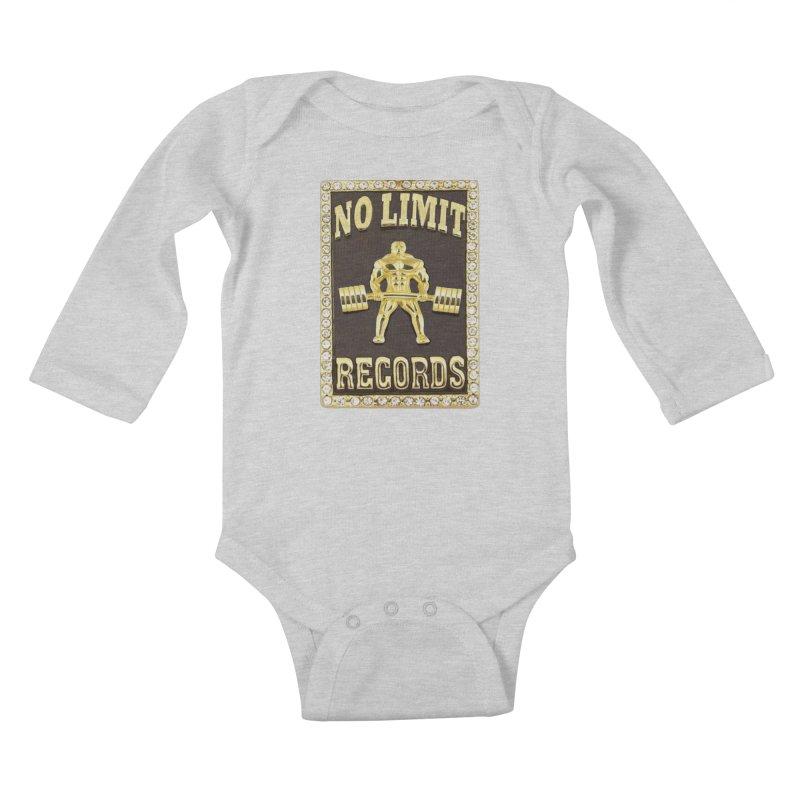 Gold Chain Kids Baby Longsleeve Bodysuit by Break The Bar