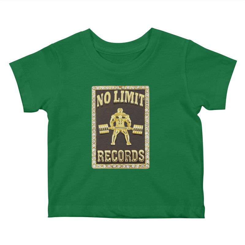 Gold Chain Kids Baby T-Shirt by Break The Bar