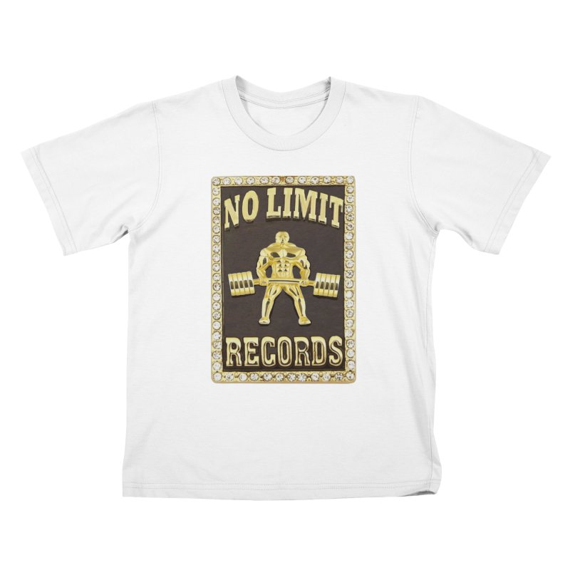 Gold Chain Kids T-Shirt by Break The Bar