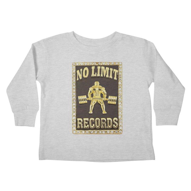 Gold Chain Kids Toddler Longsleeve T-Shirt by Break The Bar