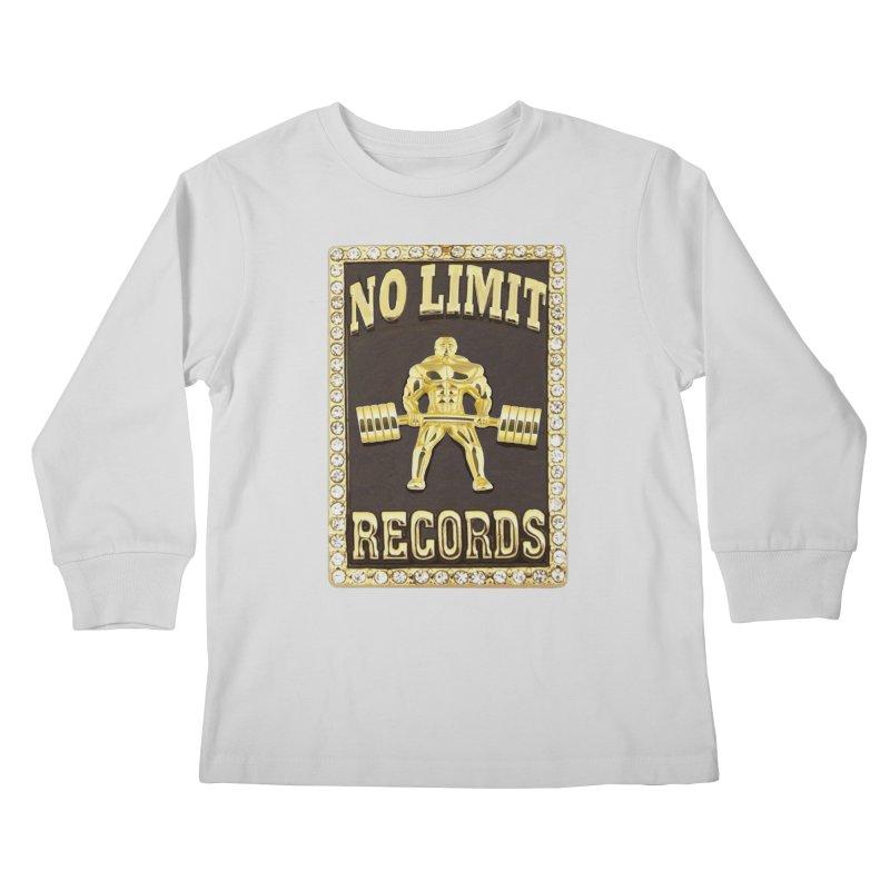 Gold Chain Kids Longsleeve T-Shirt by Break The Bar