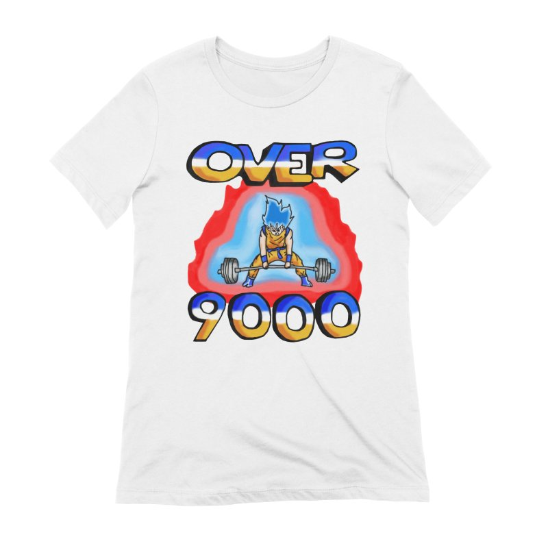 Over 9000 Women's Extra Soft T-Shirt by Break The Bar