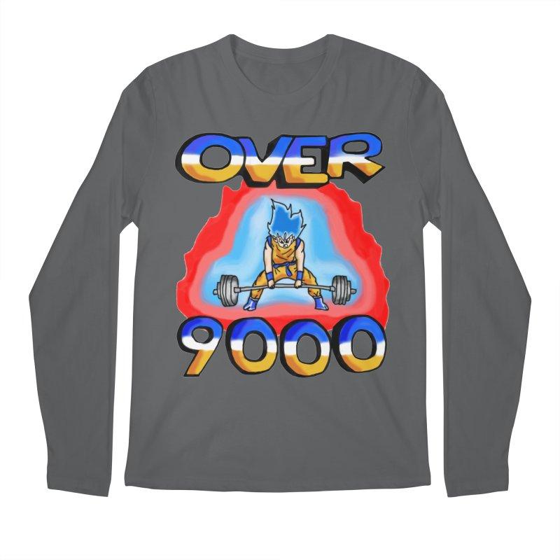 Over 9000 Men's Longsleeve T-Shirt by Break The Bar
