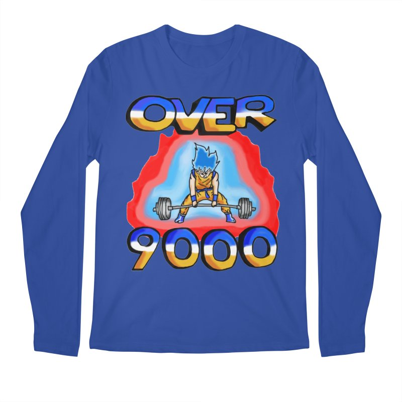 Over 9000 Men's Regular Longsleeve T-Shirt by Break The Bar