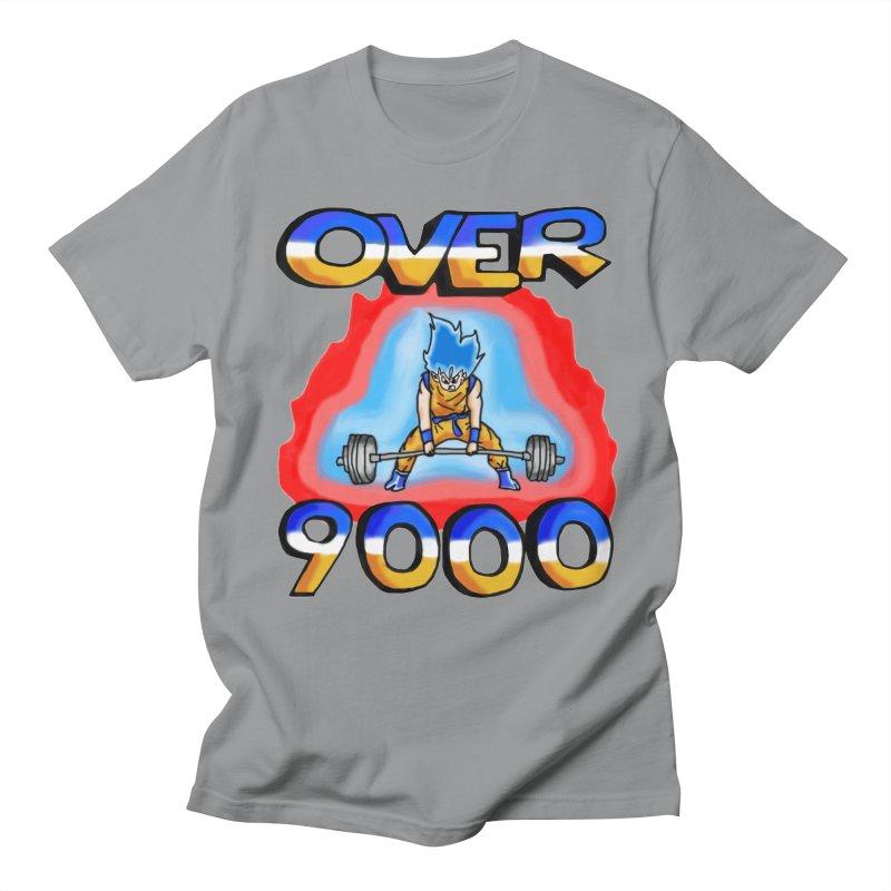 Over 9000 Men's T-Shirt by Break The Bar