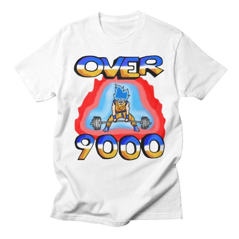 Over 9000 Women's T-Shirt by Break The Bar