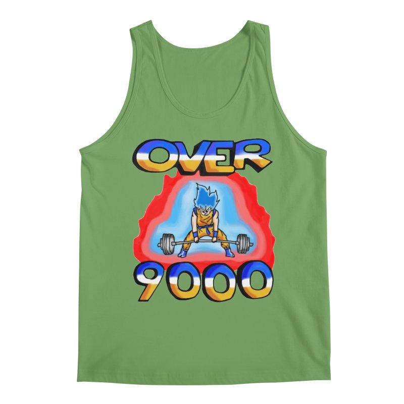 Over 9000 Men's Tank by Break The Bar