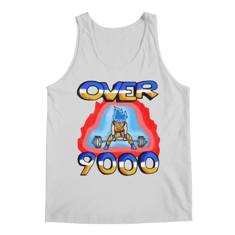 Over 9000 Men's Regular Tank by Break The Bar