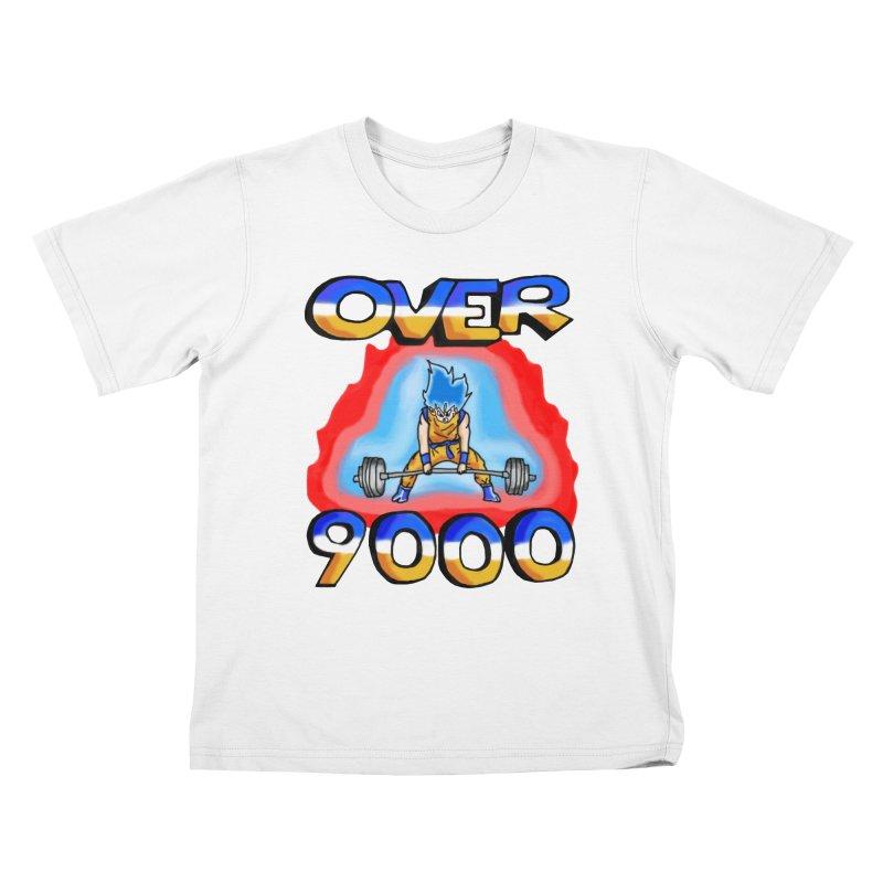 Over 9000 Kids T-Shirt by Break The Bar